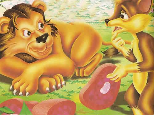 Fábulas de Esopo El León y la Zorra