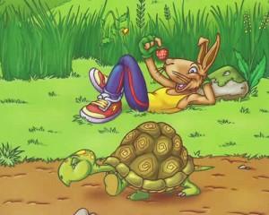 Fábulas de Esopo y sus Moralejas La tortuga y la liebre