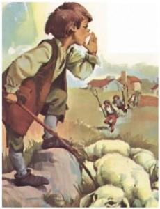 El zagal y las ovejas