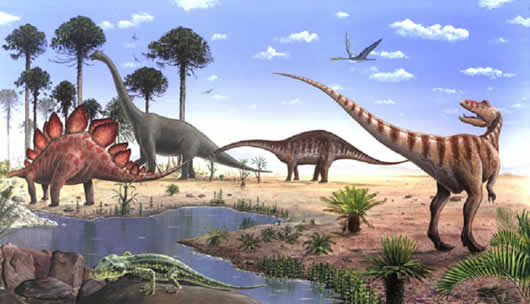 ¿Sabías Que? Los Dinosaurios Vivieron hace Millones de años