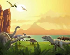 ¿Sabías Que? En la época de los Dinosaurios