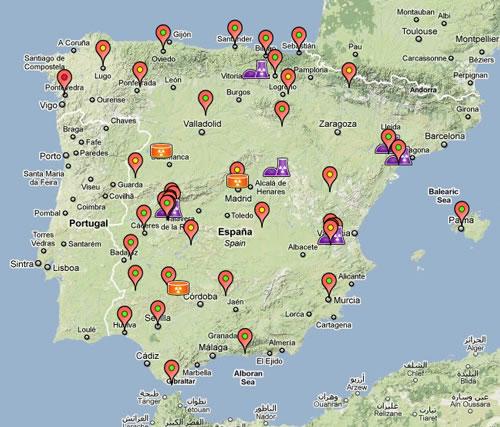 Mide la radiactividad que hay en España en Radiactividad.org