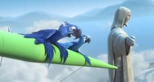 Película Rió The movie La historia de un guacamayo azul