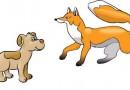 La zorra y el perro Fábulas Clásicas de Esopo con Moralejas