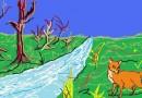 Las zorras a orillas del río Meandro Fábulas clásicas con Moralejas