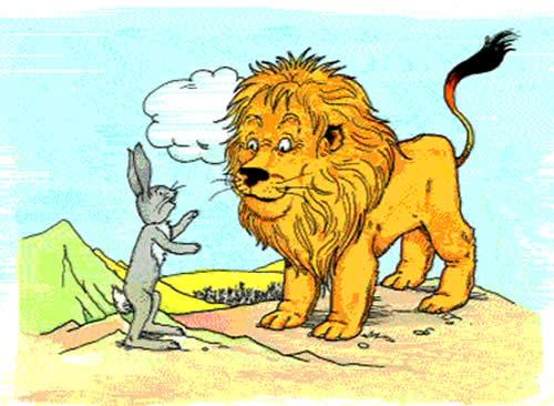 El buen rey león Fábulas clásica de Esopo con moraleja