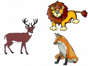 El león, la zorra y el ciervo Fábula clásica de Esopo con moraleja