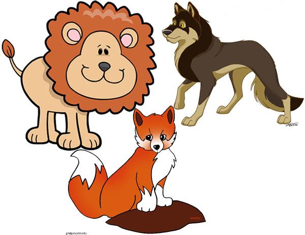 El león, la zorra y el lobo Fábulas de Esopo con moraleja
