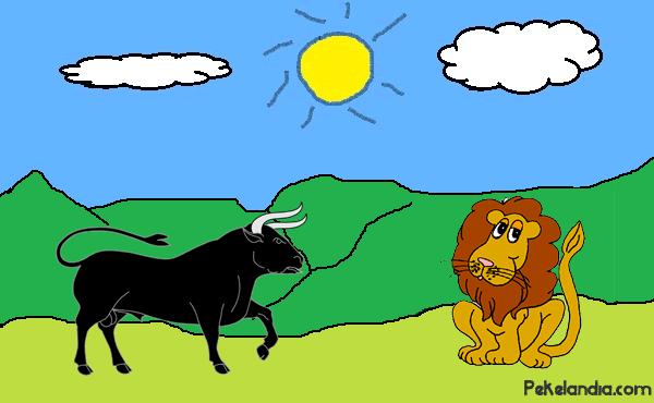 El león y el toro