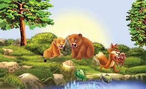 La zorra, el oso y el león