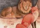 La zorra y el león anciano Fábulas Clásicas de Esopo con Moraleja