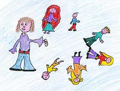 A la zapatilla por detras. Canciones infantiles para niños