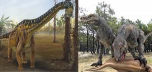 La alimentación de los dinosaurios estaba dividida en tres grupos