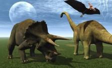 Los dinosaurios eran reptiles terrestres