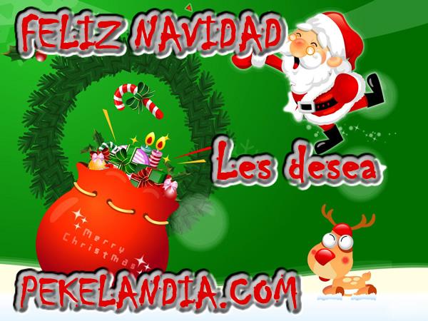 Pekalandia.com les desea una muy Feliz Navidad a todos