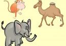 El camello, el elefante y el mono. Fábula clásica de Esopo con moraleja