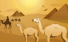 El camello visto por primera vez. Fábula clásica de Esopo con moraleja