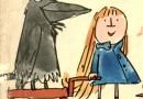 El cuervo enfermo. Fábula clásica de Esopo con moraleja