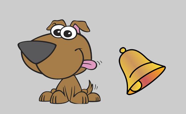 El perro con campanilla. Fábula clásica de Esopo con moraleja