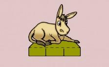La mula. Fábula clásica de Esopo con moraleja
