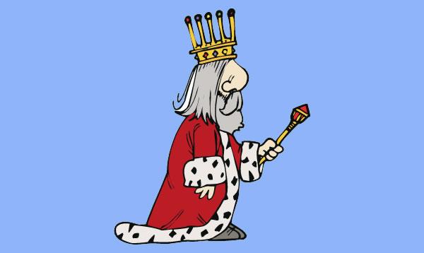 Refrán A rey muerto, rey puesto