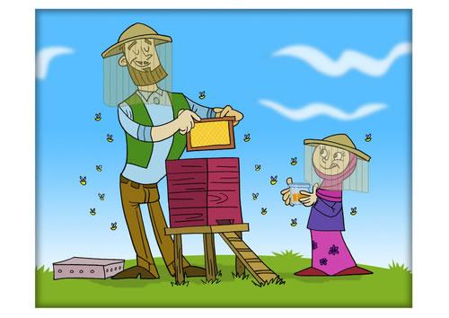 El apicultor. Fábula clásica de Esopo con Moraleja