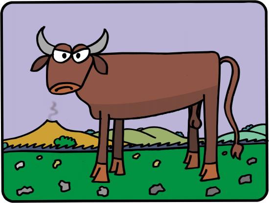 El buey y la becerra. Fábula clásica de Esopo con moraleja