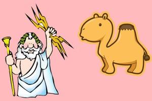 El camello y Zeus. Fábula clásica de Esopo con moraleja