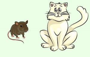 El gato y las ratas. Fábula clásica de Esopo con moraleja