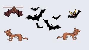 Los murciélagos y las comadrejas. Fábula clásica de Esopo con moraleja