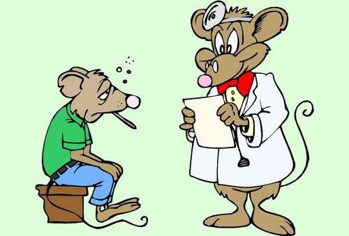 El enfermo y su doctor