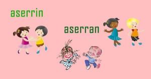 Aserrín Aserrán. Canciones infantiles paran niños