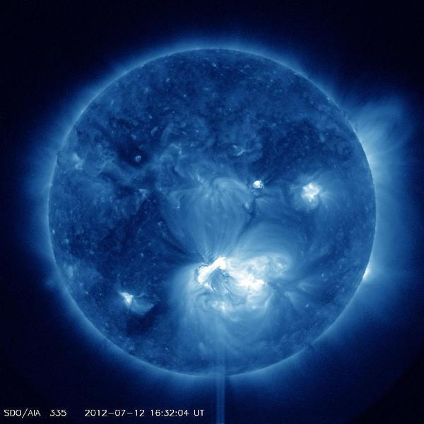 Las erupciones solares podrían aumentar este fin de semana