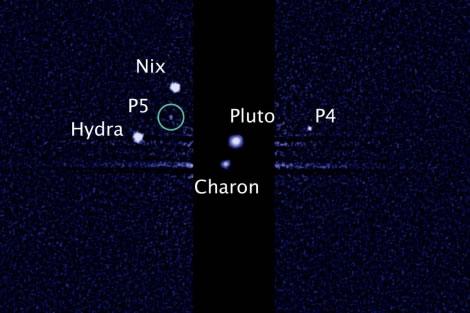 Descubierta la quinta luna de Plutón por el telescopio espacial Hubble