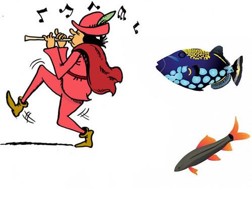 El pescador flautista. Fábula de Esopo con moraleja