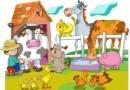 Canción de los animales. Canciones infantiles para niños