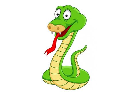 El labrador y la serpiente