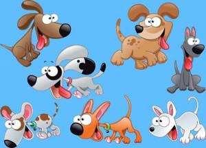 El labrador y los perros