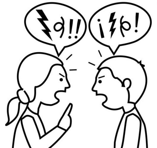 Fábulas de Esopo con moraleja. Dos hombres disputando acerca de los dioses