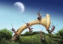 Fábulas de Esopo con moraleja. El hombre y la hormiga