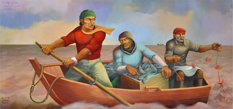 Fábulas de Esopo con moraleja. Los pescadores y el atún